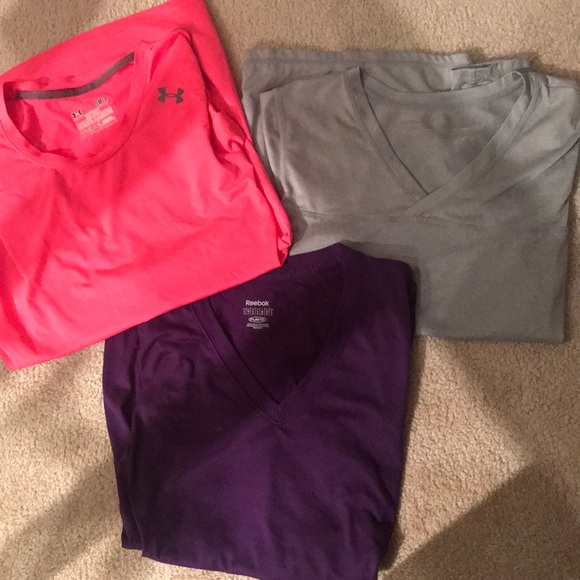 Reebok Tops - 3 Small Exercise T-shirt's